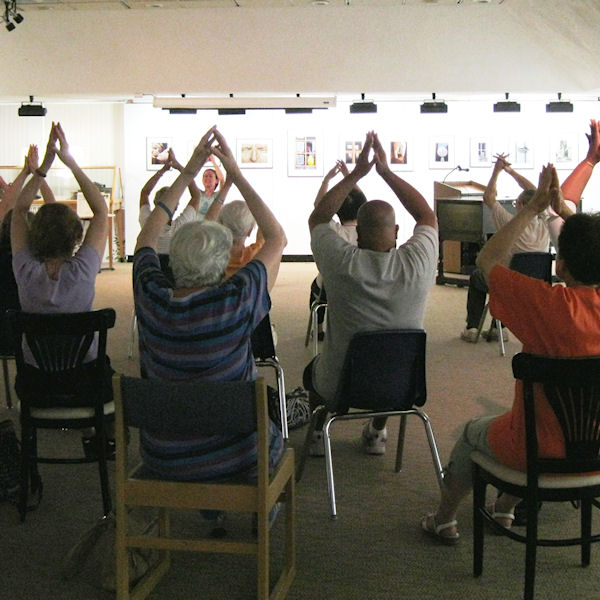 Chair Yoga Classes are forming