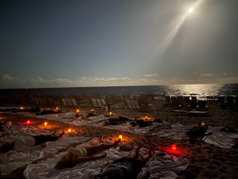 Full Moon Yoga - Boca Beach Club