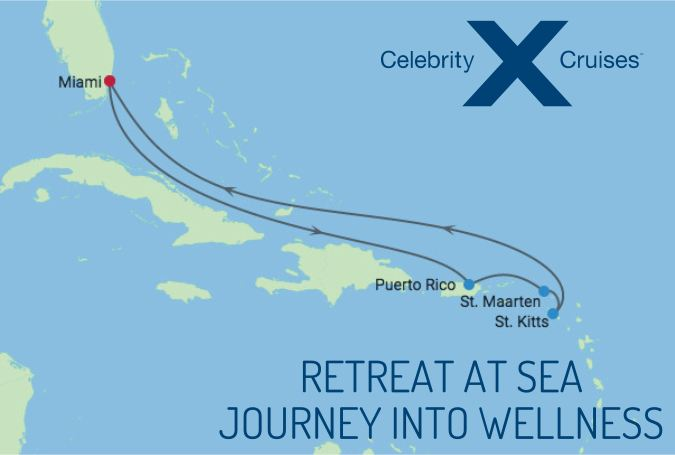 Retreat at Sea - Cruise Itinerary